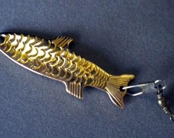 Gold Phoebe fishing lure