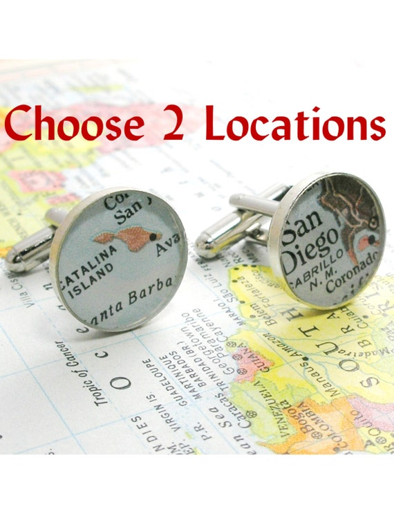 Groomsmen Gift, Will You be my Groomsman, Mens Cufflinks World Map Cufflinks for Groom, bride to groom gift wedding day, destination wedding