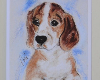 Sweet Innocence: Dog Art Note Cards By Cori Solomon