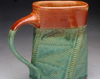 "Twisted Stoneware Coffee Mug - ""Made to Order"""