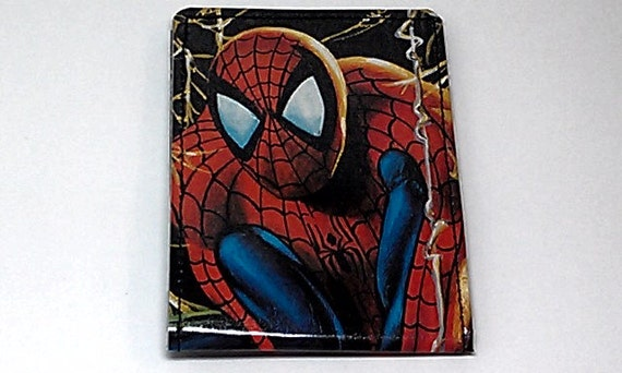 Sewn Duct Tape Comic Book Wallet - Spiderman Design 3