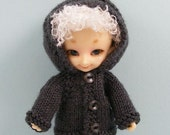 Fairyland Real Puki BJD doll handmade knitted cashmere hoodie RP127