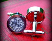 Pittsburgh Vintage Map Cuff Links - Great Gift