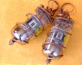 Steampunk Radio Vacuum Tube Earrings