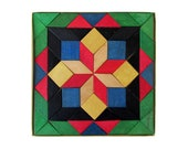 Geometric PARQUETRY Design Tile Blocks Puzzle by Tofa