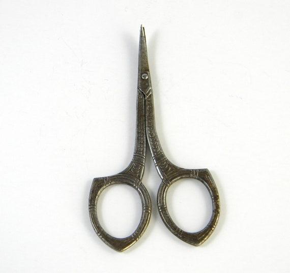 Antique Scissors Nail Scissors Embroidery Scissors By FeliceSereno