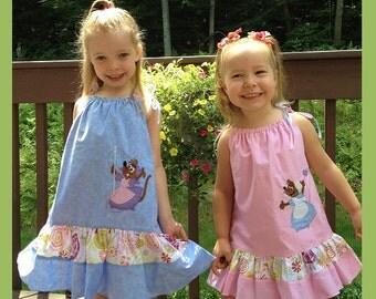Custom Cinderella Mice PillowCase Dress
