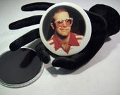 Elton John  -   repurposed album sleeve magnet