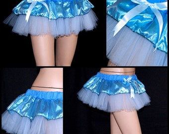 Ice Blue Frost Queen Costume Mini Ballet Tutu adult medium MTCoffinz -- ready to ship