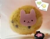 27pcs Kawaii Pink Rabbit Label Seals/stickers