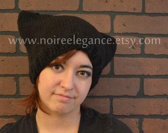 Black Neko cap