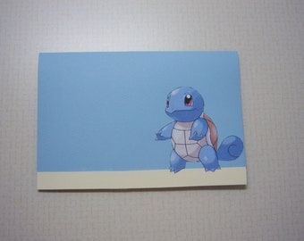 Pokemon Stationery Set--Squirtle Evolution Family
