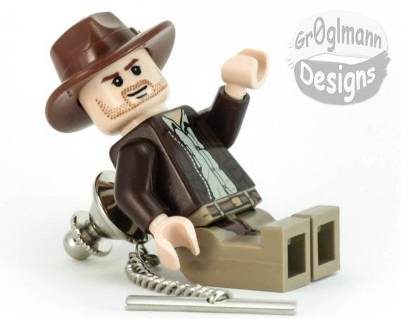 Indiana Jones Tie Tack :) made with LEGO bricks