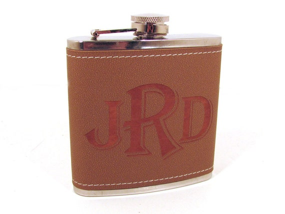 https://www.etsy.com/listing/97745520/leather-flask-personalized-engraving-for