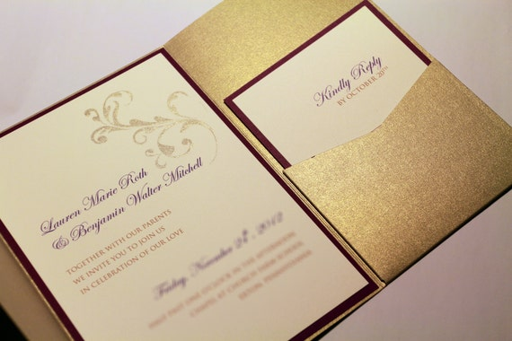 Affordable Wedding Invitation Packages with good invitations example