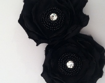 adorable floral shoe clips