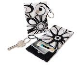 Floral Panorama Keychain Pouch