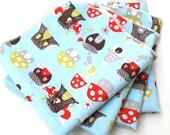 FREE OFFER Reusable ORGANIC Cloth Napkins - Set of 4- Monaluna Fox Hollow Elvendale