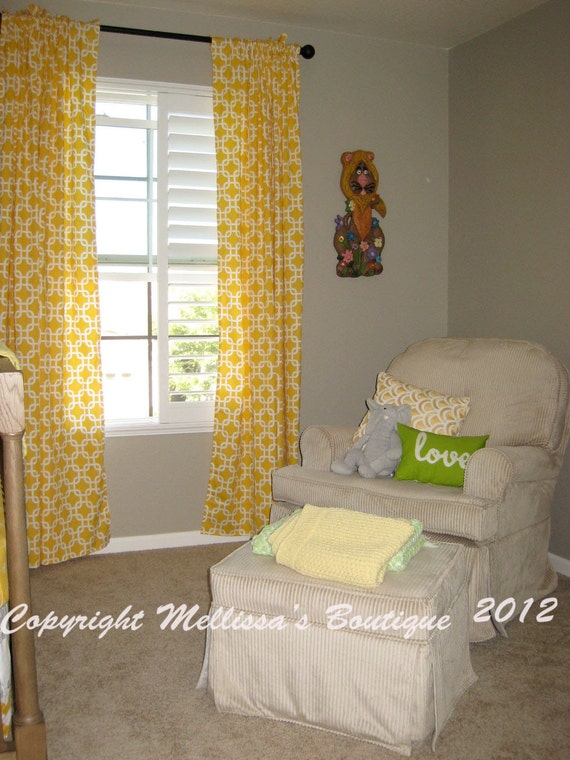 Custom Window Curtain Panel You Choose Fabrics FREE SHIPPING When Added To A Bedding Set