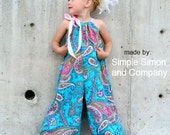 Whimsy Couture Sewing Pattern Tutorial Pdf -- Pillowcase Romper -- preemie through 10 girls w. ruffles Instant