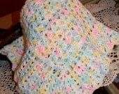 Baby Doll Blanket White 21 x 17 1/2  inches KBA07