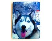 Siberian Husky,  glass cutting board, dog gift , pet , husky dogs, dog art,