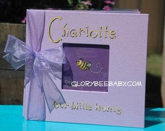 Little Honey Bee Baby Memory Book
