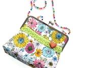 Beady Wow frame handbag, unusual purse or statement handbag