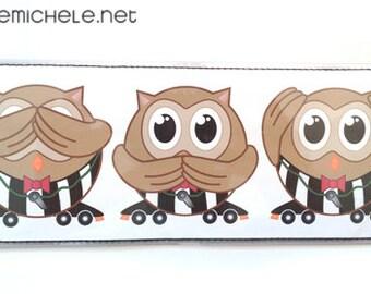 Owl Referee Bi-fold VinylWallet
