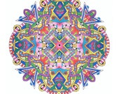 Coloring BOOK -Radial Symmetry - Mandalas