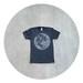 Tshirt for men - S/M/L/XL - full moon screenprint on American Apparel heather black t shirts - My Moon, My Man