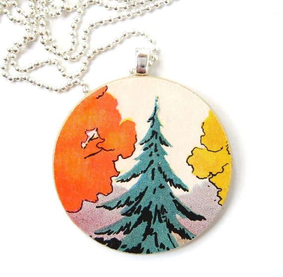 The Leaves Are A Changin' Necklace