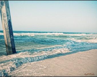 Beach Ocean Waves 11x14 Color Photograph