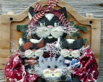 CF170 Mixed Blessings - PDF ePattern Cat Cloth Doll Pattern, Kitty