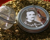 Edgar Allen Poe Tea - Midnight Dreary - Gift Set, Licorice Tea, Herbal Tea, Tea Gift