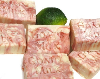 Moon Goddess Lime and Patchouli- Organic Goat Milk Soap