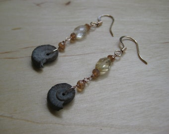 Insouciant Studios Desert Ocean Earrings