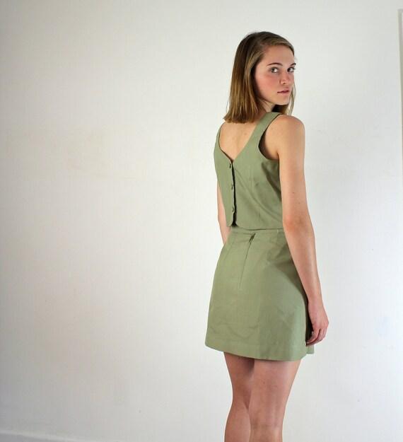 Parisian Suit - Sage Green Dress Set