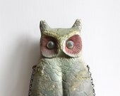 Large Vintage Owl Decoy