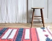 Vintage Wool Runner / Southwest Modern, Native American