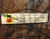 Halloween Hanging Sign