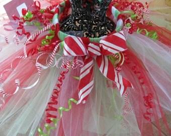 Candy Cane Tutu