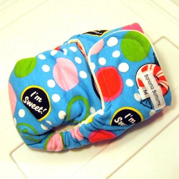 NEW PRINT Medium Cloth Diaper with Bamboo Velour