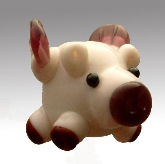 Aardvark's FLYING PIG Bead