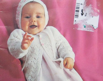Patons Beehive Nursery Styles Knit Baby Clothes Pattern Book