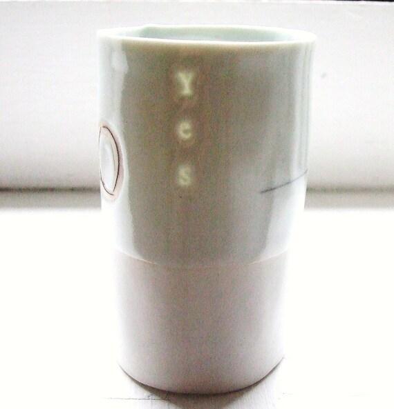 yes - Translucent porcelain cup