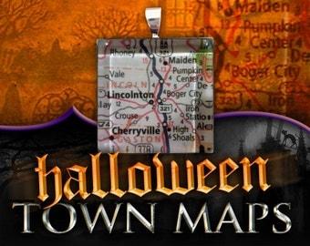 Maps: Halloween Towns