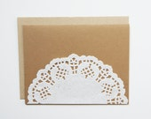 SALE Lace Note Cards