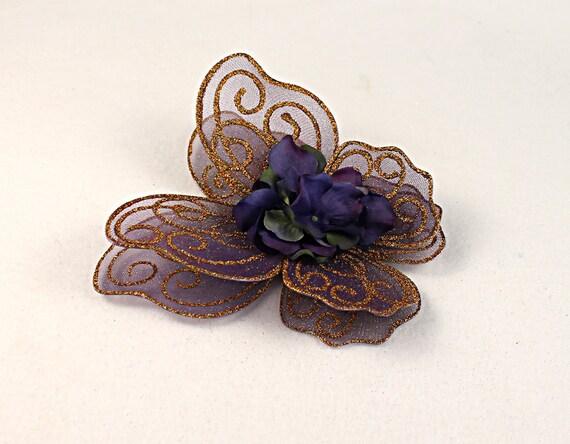 Fairy wings - Altered Baby Fairy Wings - Newborn Photos - Purple Fairy Wings - Faeling Fairy Wings - Baby Keepsake