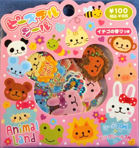 Kawaii Mind Wave Animal Land Sticker Sack